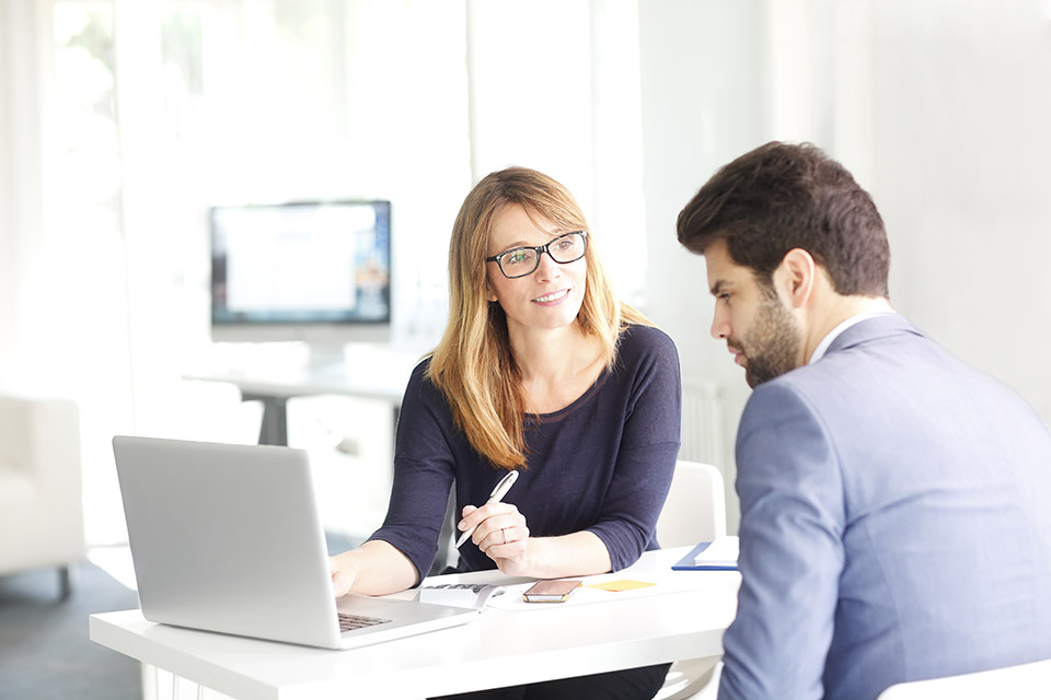 Paifang Accountants & Tax Advisors - Woman giving business advice